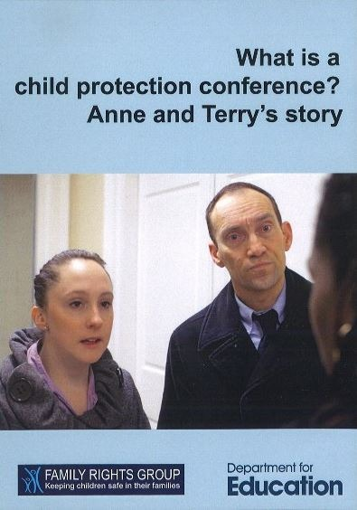 What is a child protection conference DVD