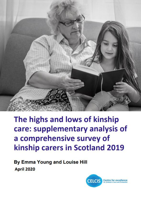 The highs and lows of kinship care: supplementary analysis of a comprehensive survey of kinship carers in Scotland in 2019