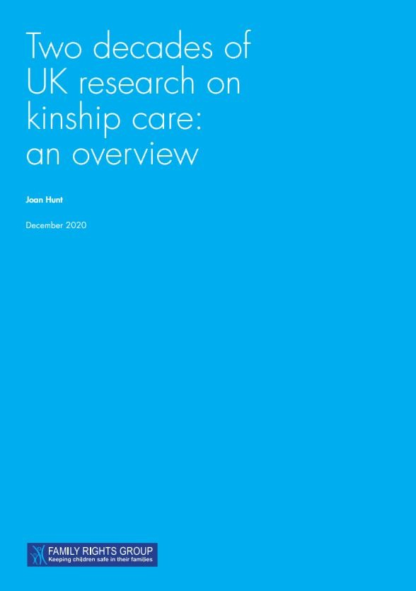 Key findings from the last two decades of UK research on kinship care